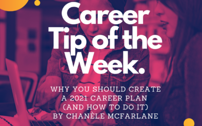 Why You Should Create a 2021 Career Plan (and How to Do it)