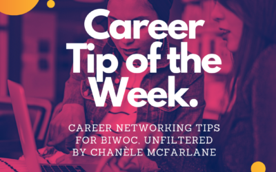 Virtual Networking Tips for BIWOC, Unfiltered